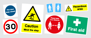 Health & Safety Signs | www.colour-frog.co.uk